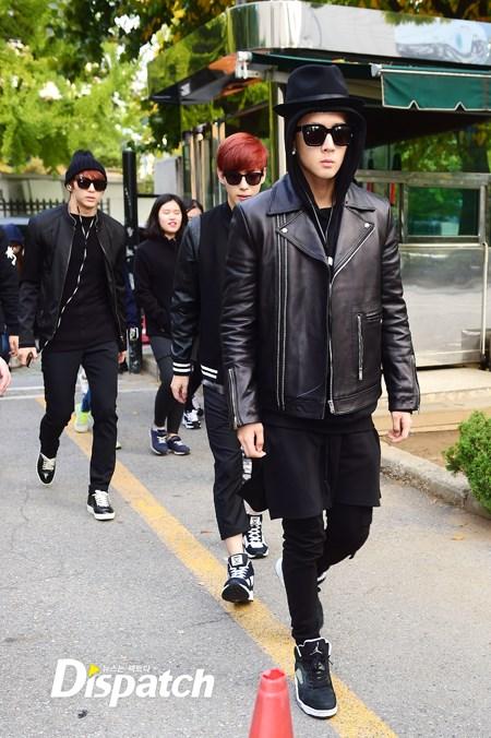korea korean kpop idol boy band group vixx fedora fashion ravi black hat hip hop outfit looks style for guys kpopstuff