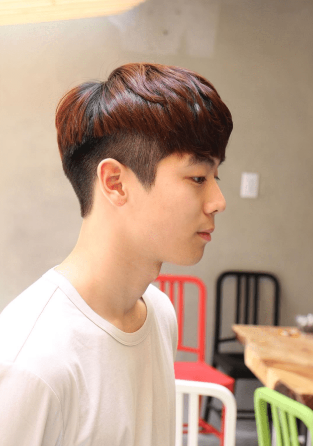 The CLEAN TWO BLOCK HAIRCUT , Kpop Korean Hair and Style