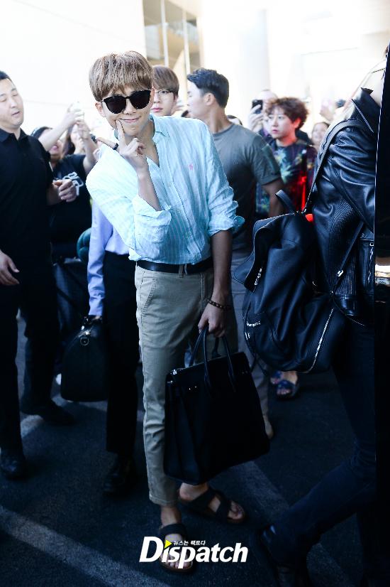 korea korean kpop idol boy band group bts bbma airport fashion bangtan boys rap monster namjoon las vegas billboard outfits guys men kpopstuff