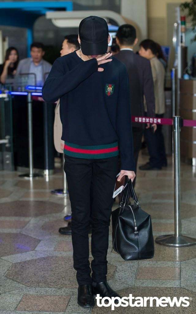 korea korean kpop idol boy band group got7 bambam's birthday outfit preppy style looks sweater black jeans cap fashion guys men kpopstuff