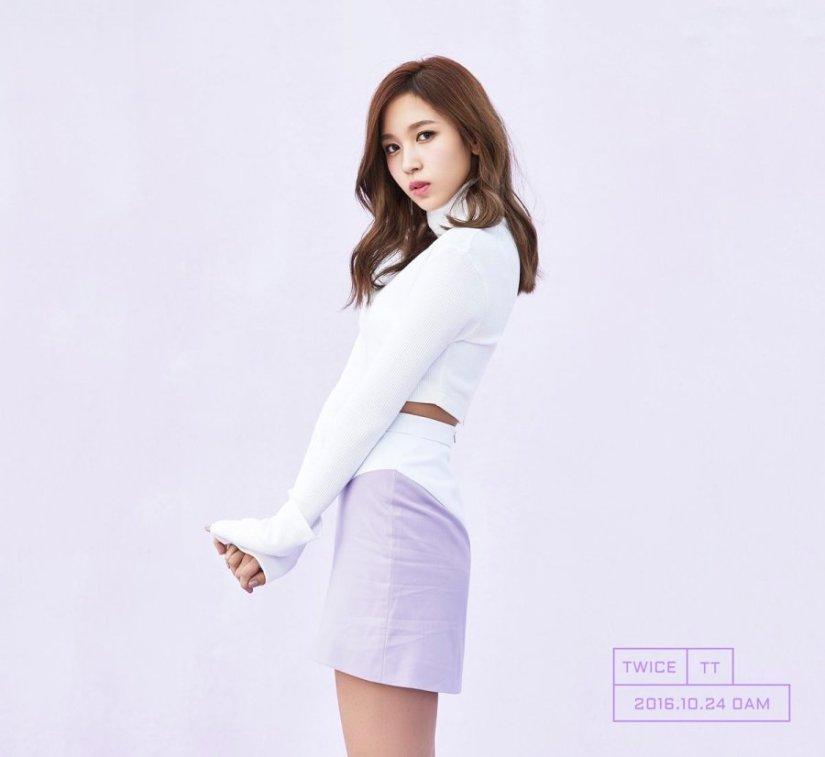 korea korean kpop idol girl group band twice mina's hair timeline tt long brown hair hairstyles girls women kpopstuff