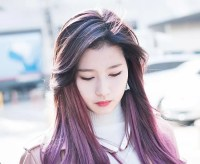 Spring Hair Trend ALERT! TWICE Sana's Purple Hair