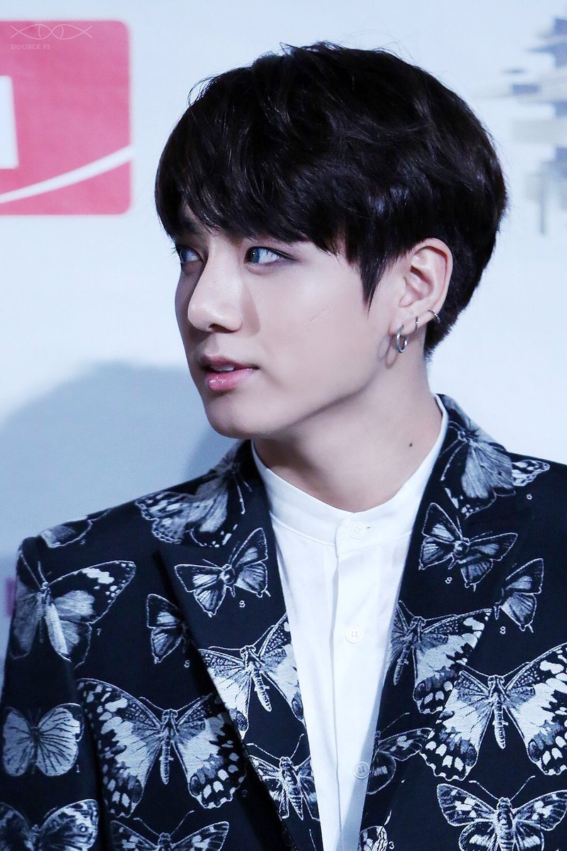 Black Is Probably The Closest Color To His Jungkooks Natural Hair