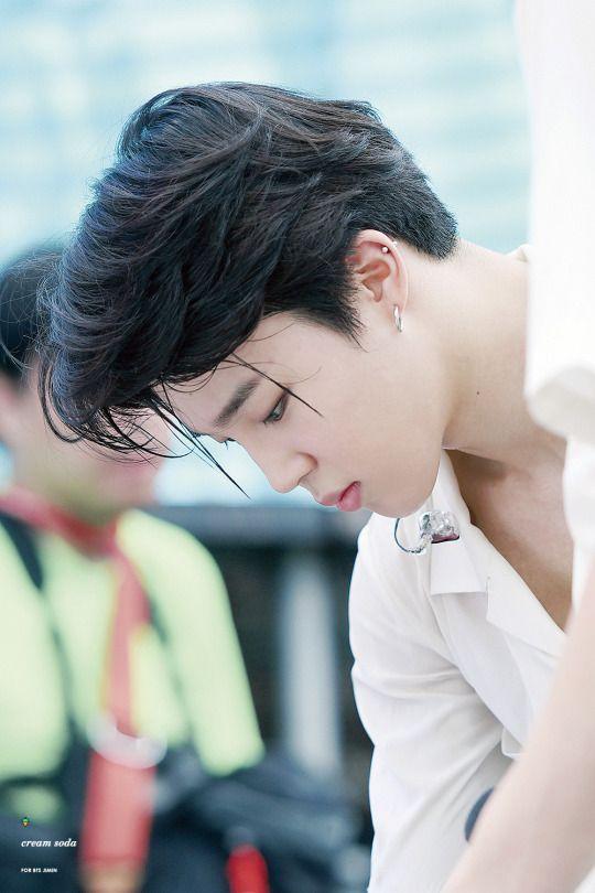korea korean kpop idol boy band group bangtan boys bts jimin's best hairstyles black layered haircut hair for guys men kpopstuff