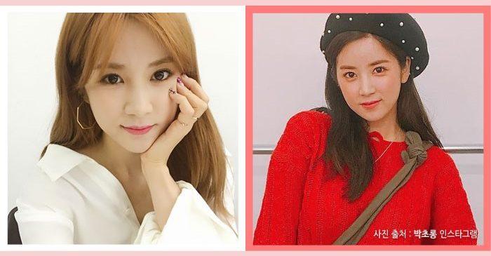 korea korean kpop idol girl group band apink park chorong darker kpop hair looks dark brown hairstyle color hairstyles girls women kpopstuff
