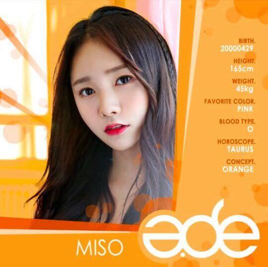 Thông tin thành viên Miso- A.DE
