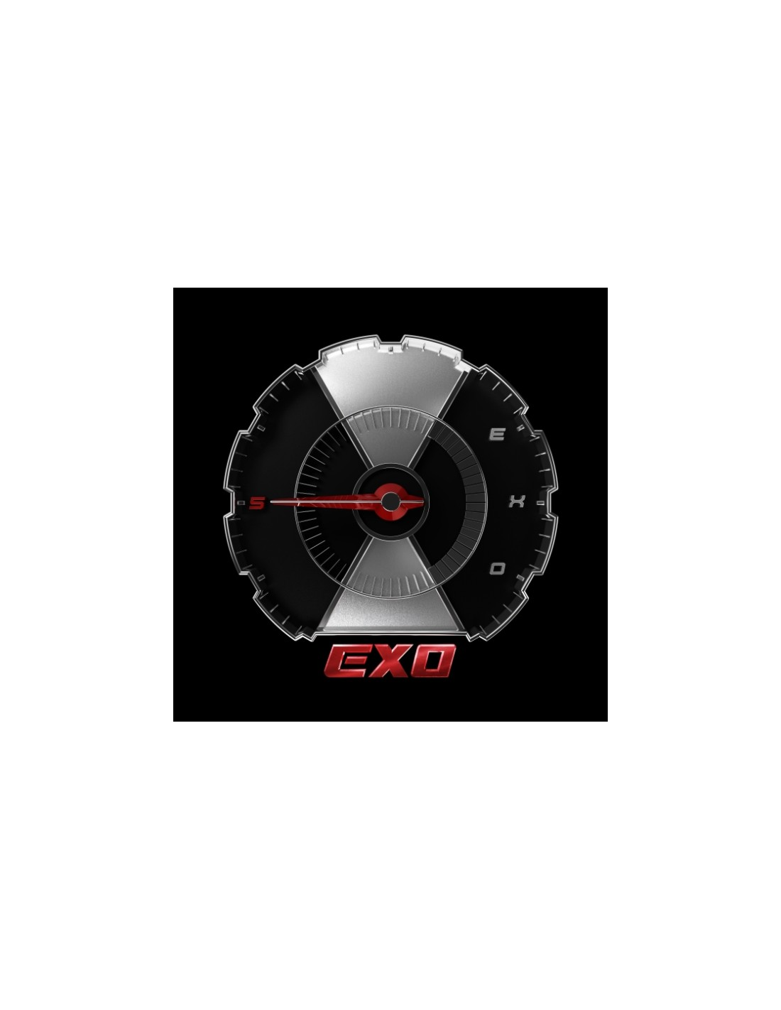 Exo Don't Mess Up My Tempo : don't, tempo, Album, DON'T, TEMPO(Random, Poster