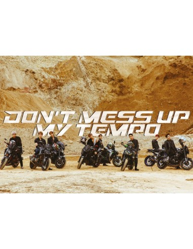 Exo Don't Mess Up My Tempo : don't, tempo, Poster], Album, DON'T, TEMPO, (ANDANTE