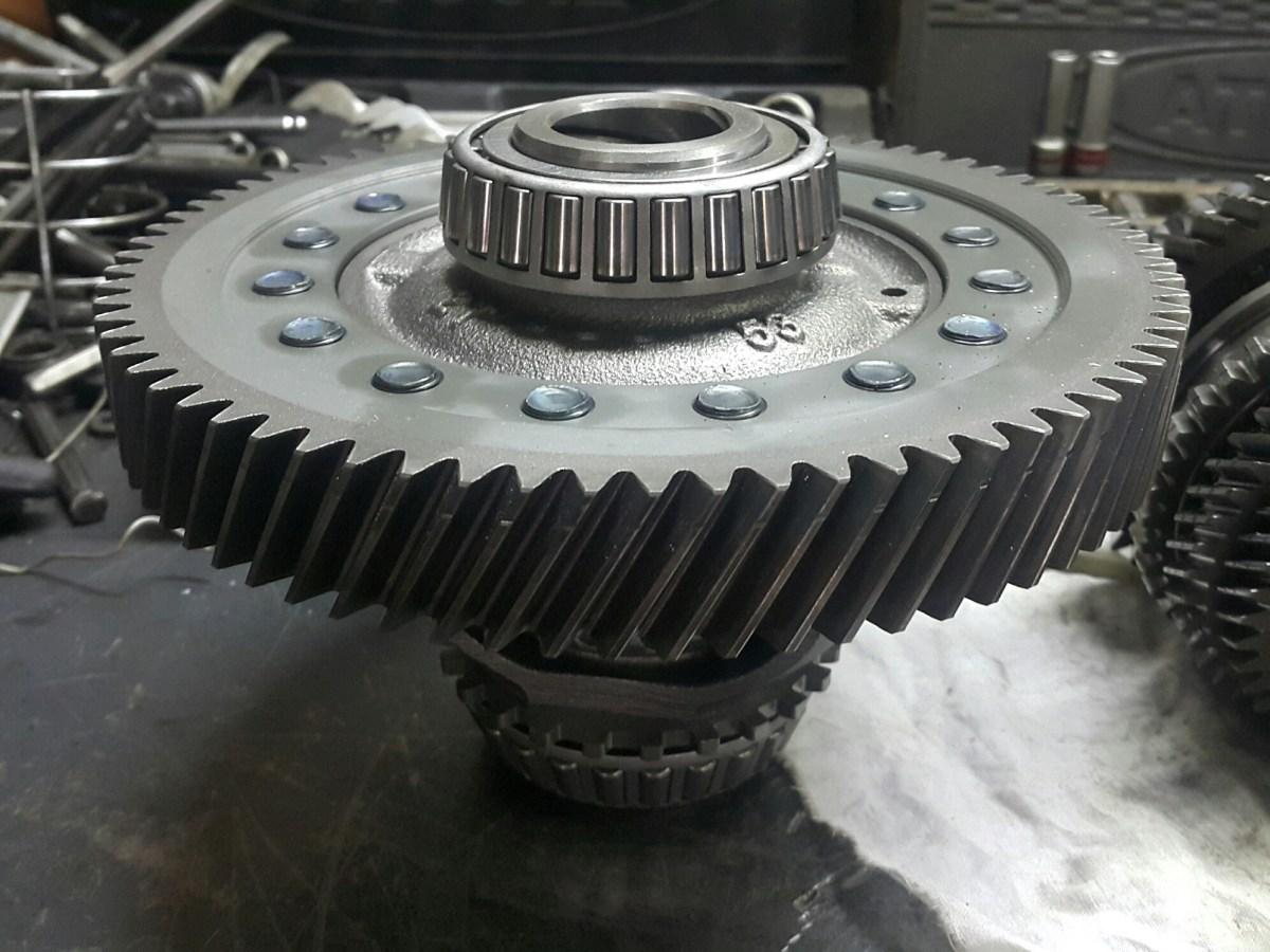 Дифференциал механической коробки передач