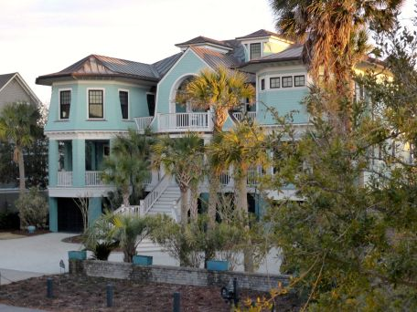 turquoise house