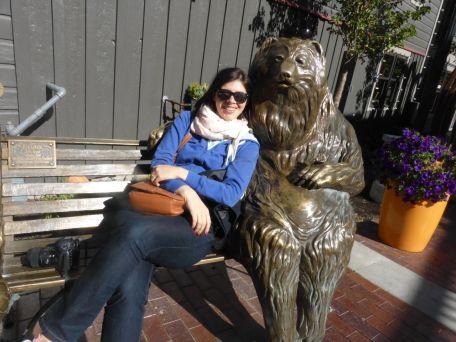 Ola and the bear