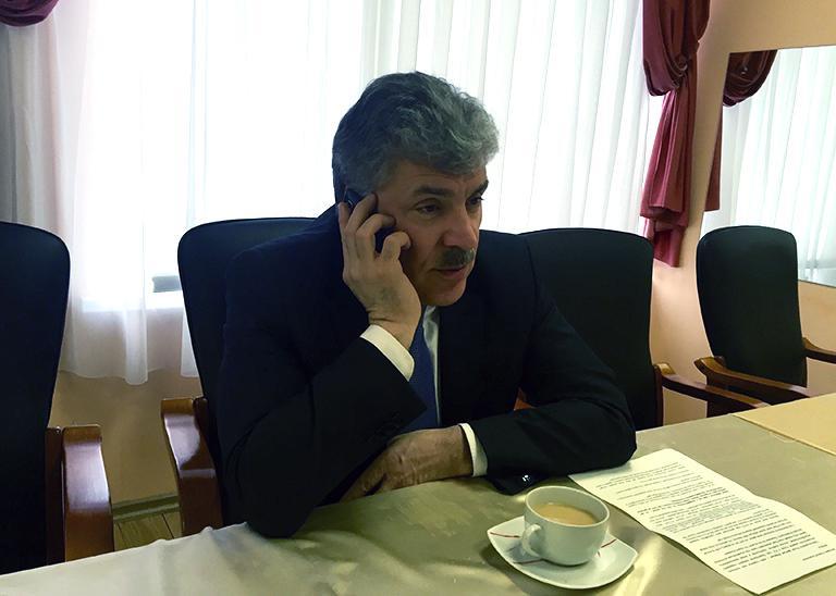 Павел Грудинин: «Если убрать фальсификат и ввести ГОСТы СССР, в России начнется голод»
