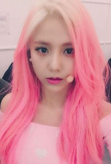 Who Rocks Pink Hair Kpop Female Edition Updated