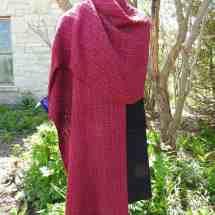 shawl cerise bamboo 16.75