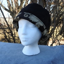 hat reversible black gold 19.02