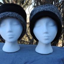 hat reversible black white 19.03-04