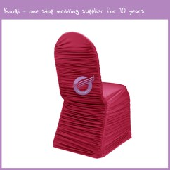 Hot Pink Spandex Chair Covers Gym Qvc Roughed Cover 951 Kaiqi Wedding