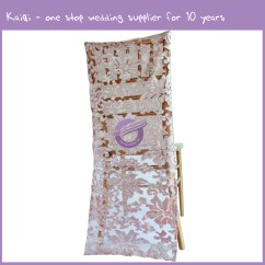 Chair Covers Wholesale China Swing Ergonomic Sequin Slipcover  Champagne
