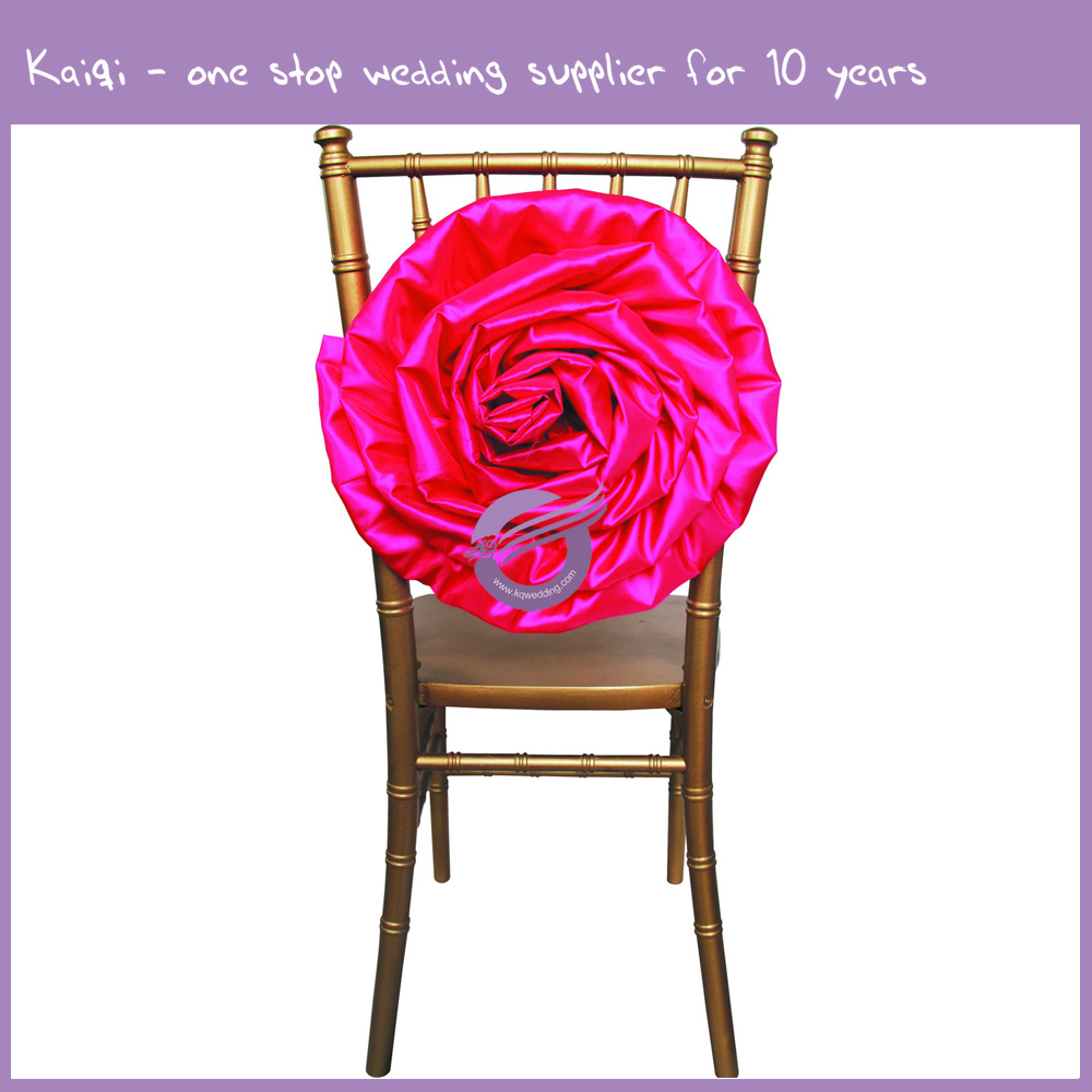 chair covers direct from china lexmod edge office drafting hot pink fancy taffeta wedding decorative flower d290 | kaiqi