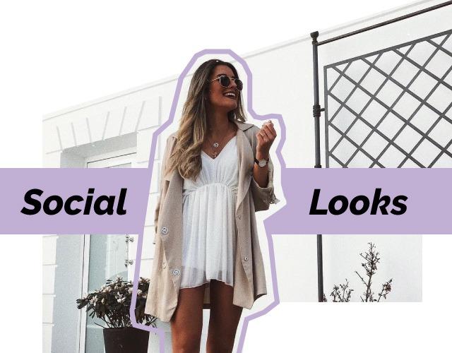 social looks influencer de mujer en Krack