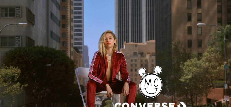 Miley Cyrus y la nueva colección Converse X Miley