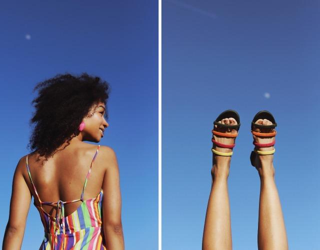 sandalias de colores multicolor summerfull mujer