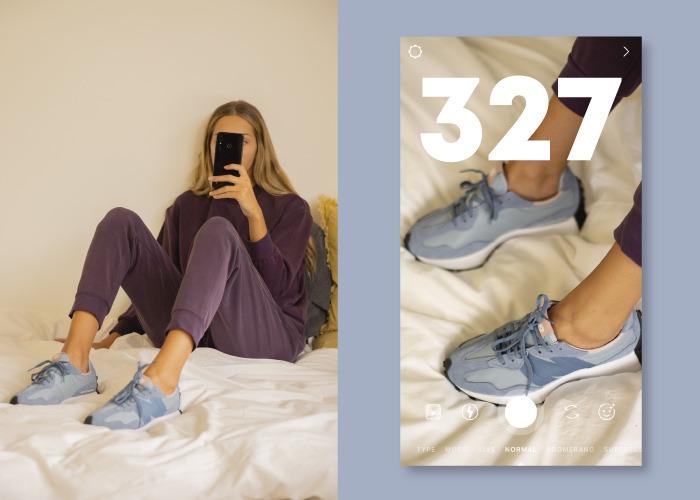Zapatillas deportivas new balance 327