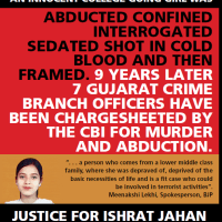 Gujarat refuses sanction to prosecute ex-cops in Ishrat Jahan case: CBI