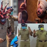 'From Bhangra Pop To Dance Moves,' Cops Across  India Police go theatrical to enforce corona lockdown