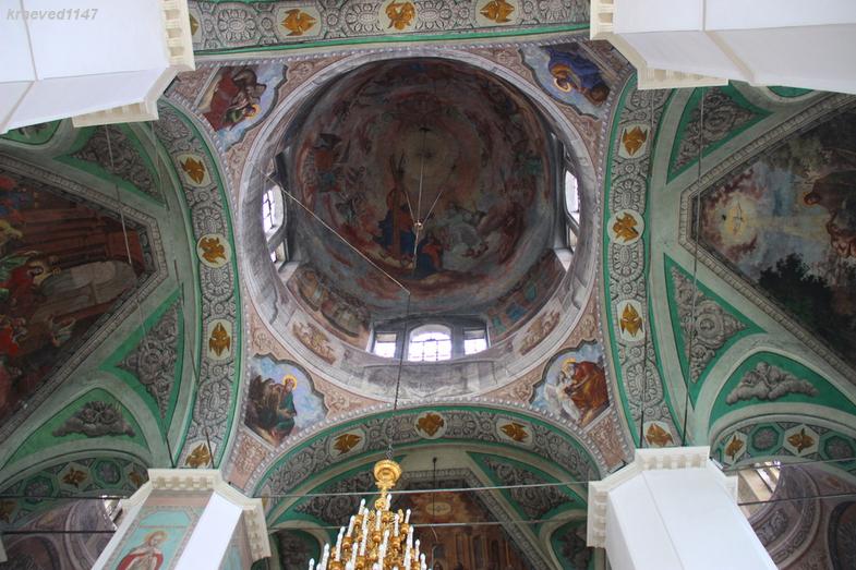 Центральный свод Казанского собора