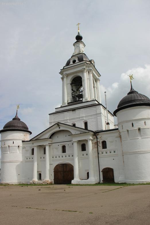 Церковь Николая Чудотворца (1684), Авраамиевский Богоявленский монастырь, Ростов.