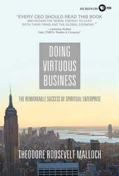 Cover for Doing Virtuous Business