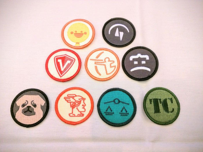 Happiness Badges