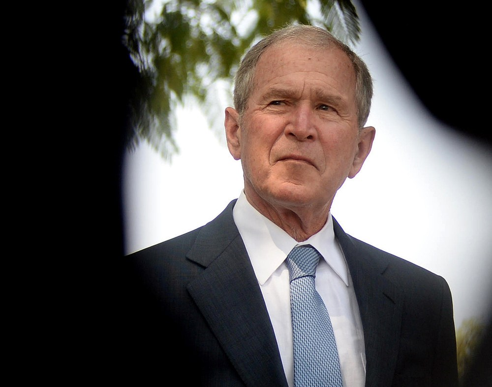 <span class='p-name'>NPR Interviews George W. Bush</span>