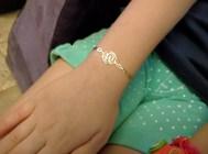 Gold bracelet? Nope.