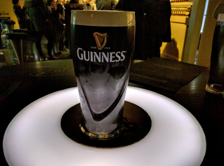 My perfect pint of Guiness