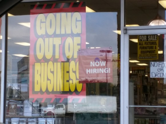 No Job For Long!