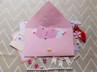 plic handmade, plic decorativ, envelope handmade, plic pentru bani