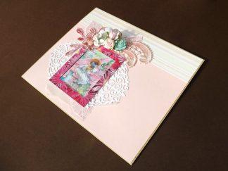 plic handmade, plic decorativ, plic special, kraftart handmade, plic scrapbook