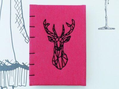 jurnal handmade cerb A6