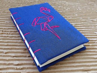 jurnal handmade flamingo