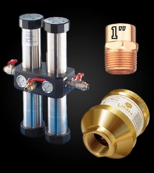 Kraftaverk H2O - QUADRO 120L Carbonit Filter and UMH Master 1 Inch