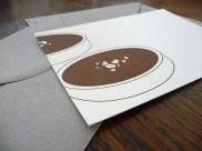 "Carte ""Tartelettes au chocolat"" par Kraftille"