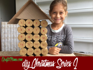 Christmas calendar, advent calendar, diy