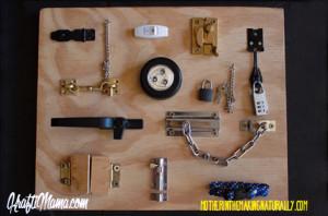 Latchboard DIY, Fine Motor Skills, Toddler Activities