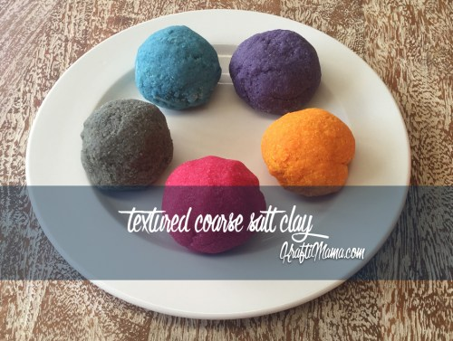 Quick & Easy Sensory Clay (microwave) & Printable colour chart!