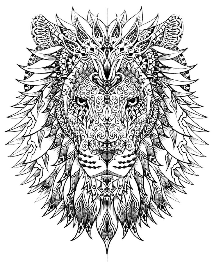 10 Free Adult coloring pages! - KraftiMama