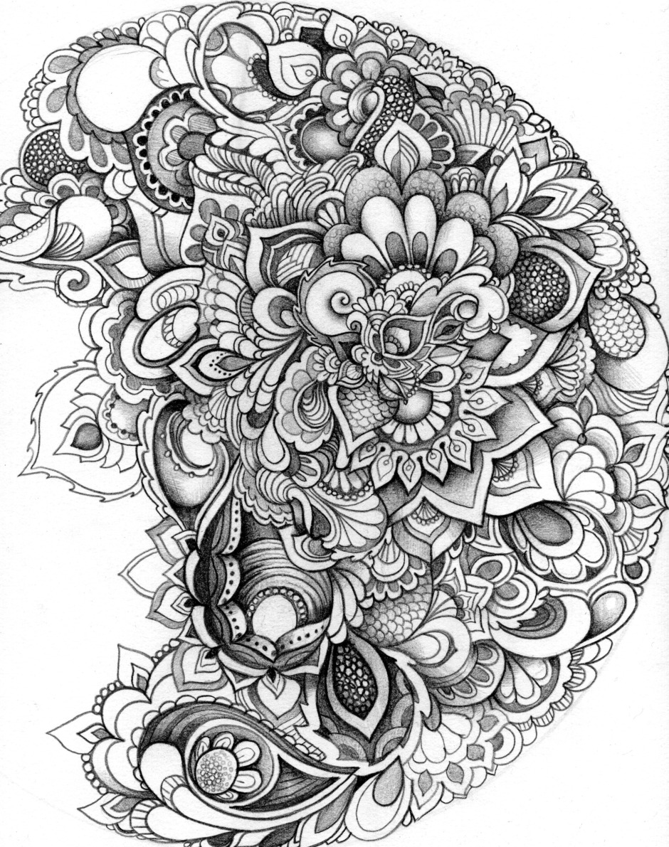 10 Free Adult Coloring Pages Kraftimama