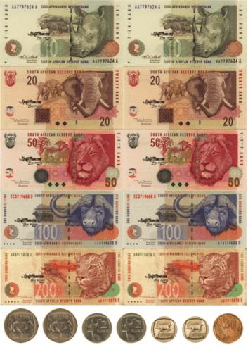 ZAR South African Play Money, KraftiMama Free Printables