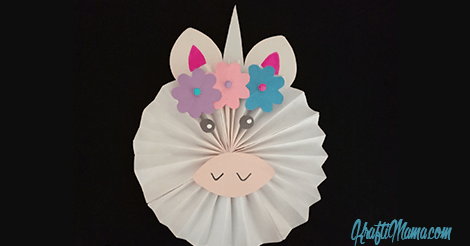 DIY Unicorn Paper Fan *Guest Post*